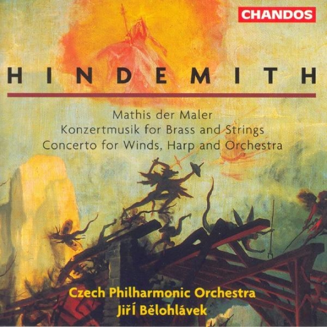 Hindemith: Mathis Der Maler / Conecrto For Woodwinds, Harp And Orchestra / Konzertmusik, Op. 50