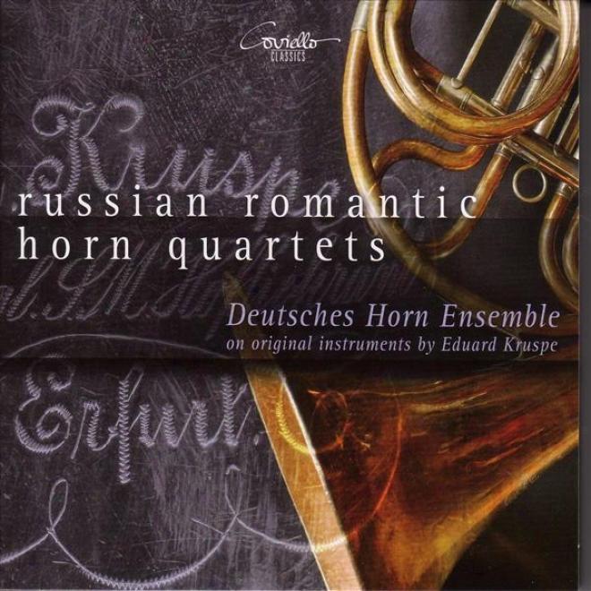 Horn Quartets - Aloys, L. / Rimsky-korsakov, N.a. / Homilius, F.c. / Tcherepnin, N. / Mitushin, A. (deutsches Horn Ensemble)