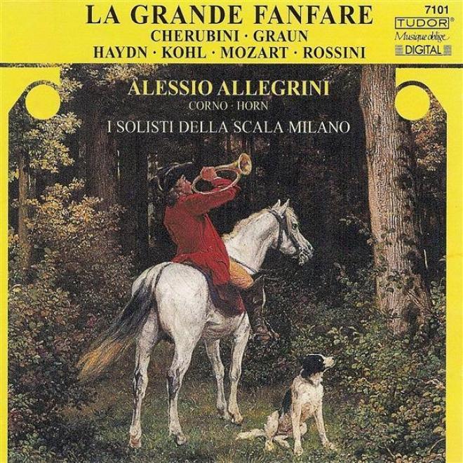 Horn Recital: Allegrini, Aleessio - Cherubini, L. / Graun, J.g. / Kohl, W.l. / Haydn, F.j. / Mozart, W.a. / Rossini, G.