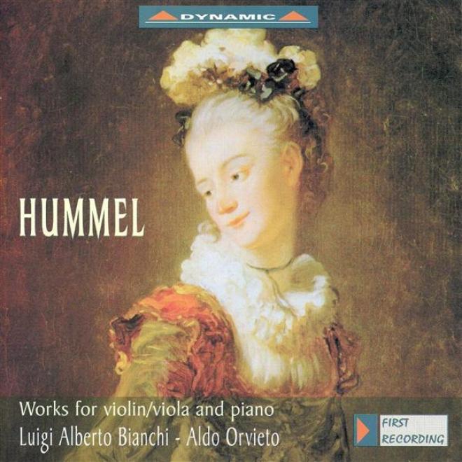 Hummel: Amusement / Rondo Brillant In G Major / Viola Sonata In E Flat Major