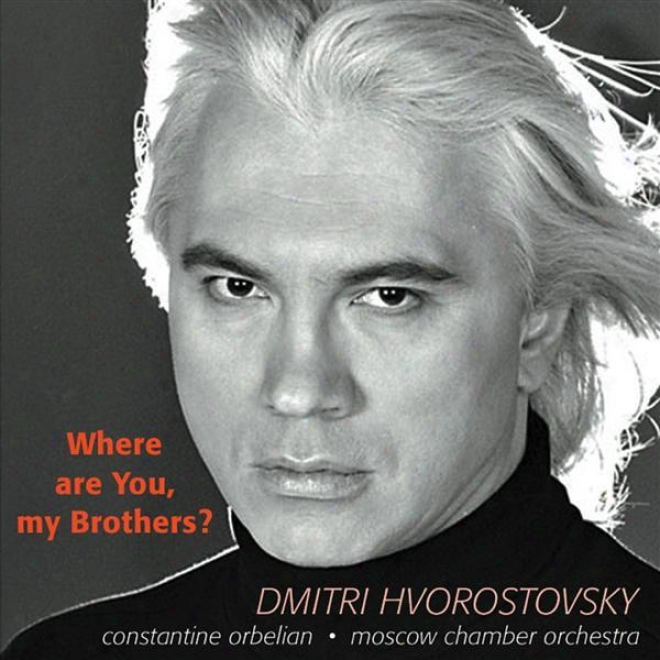 Hvorostovsky, D.: Songs - Tariverdiev M. / Bogoslovsky, N. / Fradkin, M. / Solov'yov- Sedoy  /V. / Basner, V. / Novikov, A.