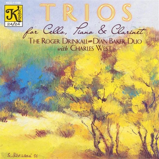 Indy: Clarinet Trio In B Flat Major / Muzcynski: Fantasy Trio / Brahms: Clarinet Trio In A Minor