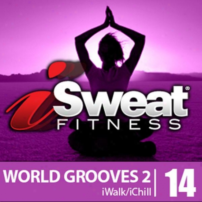 Isweat Fitness Music Vol. 14 World Grooves 2-126 Bpm For Running, Walking, Elliptical,treaemill,chull-out,fitness,pilates