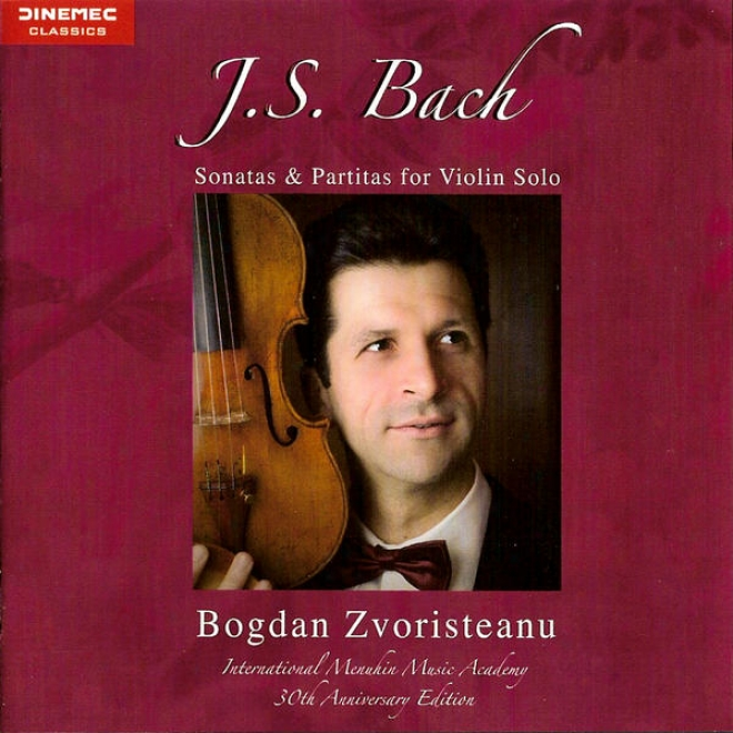 J. S. Bach:: Sonatas & Partitas For Fiddle Solo (internatiobal Menuhin Music Academy 30th Yearly  Edition)