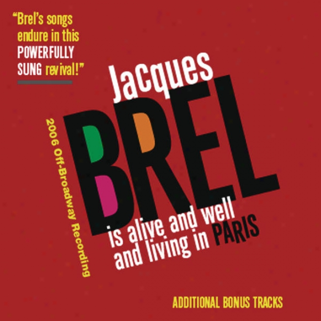 Jacques Brell Is Alive And Well And Living In Paris (additional Bonus Tracks)