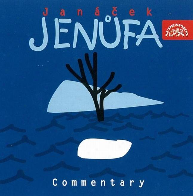 Janacek : Jenufa. Opera / Jelinkova, Krasova, Blachut, Zidek Et Al.,prague Nto / Vogel