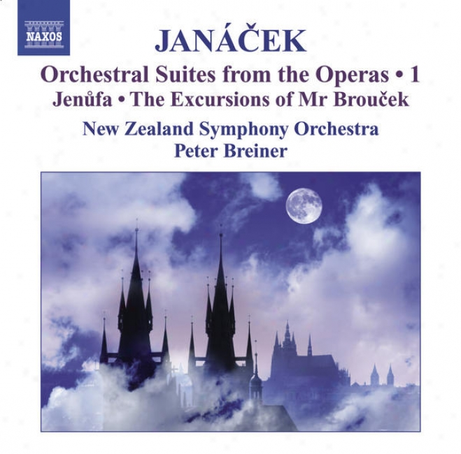 Janacem, L.: Operatic Orchestral Suites, Vol. 1 (arr. P. Breiner) - Jenufa / The Excursions Of Mr Broucek