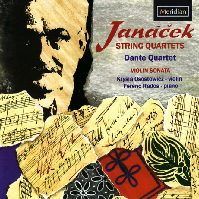 Janã¢ä�ek: String Quartet No. 1, Allegro For Fiddle And Piano, Sonata For Fiddle And Piano, String Quartet No. 2