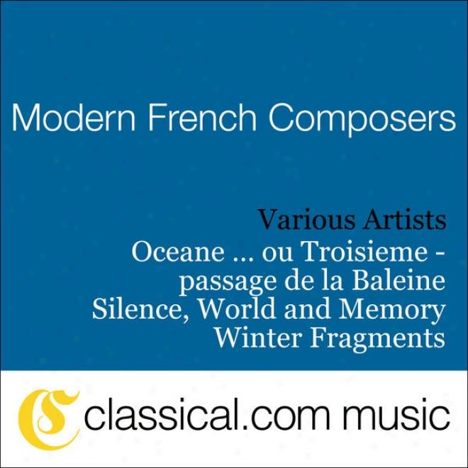 Jean-francois Estager, Silence Parole Et Memoire (silence, World And Memory)