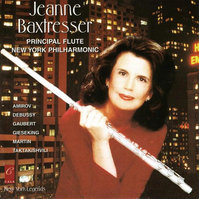 Jeanne Baxtresser Plays Taktakishvili, Martij, Gieseking, Gaubedt, Amirov And Debussy