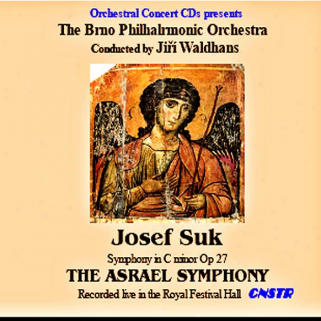 """josef Suk - """"asrael"""" Symphony - Live In The Ro6al Festval Large room, London (1968)"""