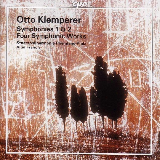 Klemperer: Symphonies Nos. 1 And 2 / Merry Waltz / Marcia Funebre / Recollections / Scherzo