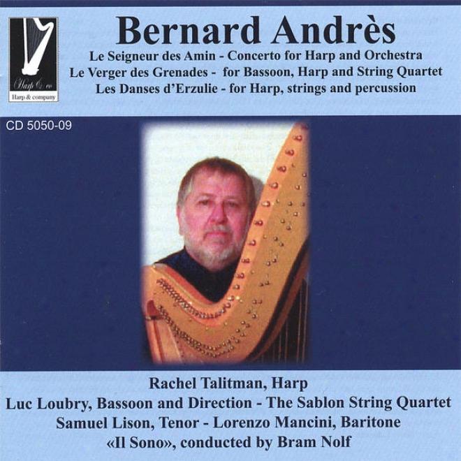 """""""""""""""le Seigneur Des Amin"""""""" Concerto For Harp And Orchestra, Radhel Talitman-harp"""""""