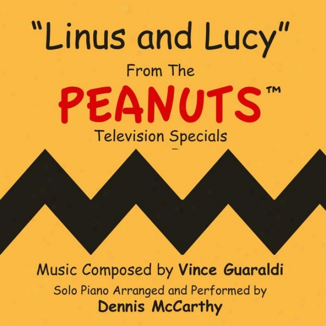 Linus And Lucy-yheme From The Animated Specials Based On Charles Schulz's Peanuts