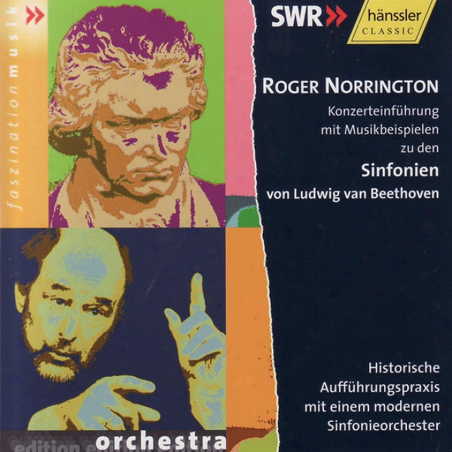 Ludwig Van Beethoven: Konzerteinfã¼hrungen Mit Musikbeispielen Zu Den Sinfonien 1-8