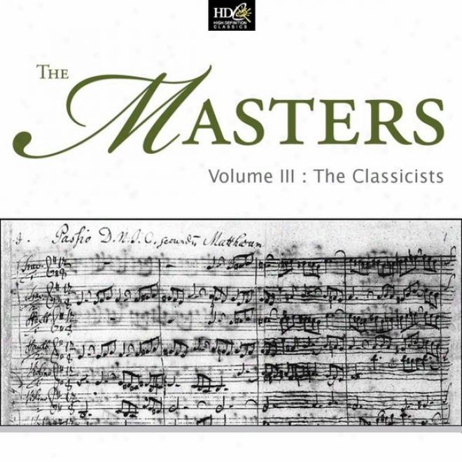 Ludwig Van Beethoven :the Masters Vol. 3 - The Classcists   (famous Minor Works)