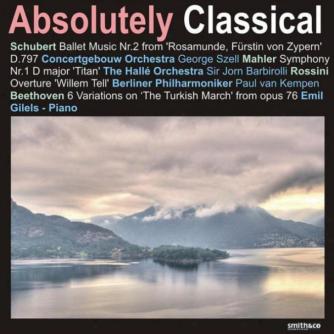 """mahler: Symphony No. 1 - Beethoven: 6 Variations On """"the Turkish March"""", Et Al."