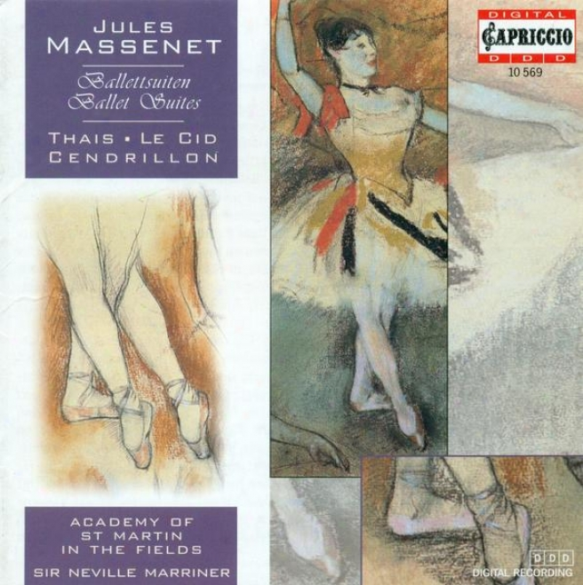 Massenet, J.: Ballet Suites (academy Of St. Martin In The Fields, Marriner)