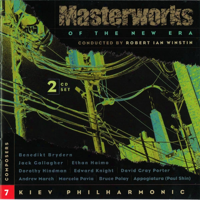 Masterworks Of The New Era, Vol. 7: Cavalier, Brydern, Appogiatura, Hindman, Pavia, Porter And Others