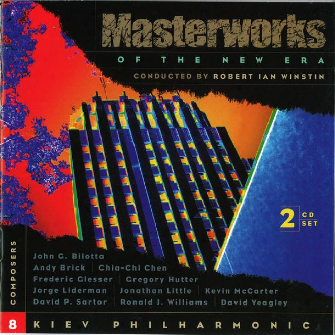 Masterworks Of The New Era, Vol. 8: Mccarter, Hutter, Yeagley, Glesser, Sartor, And Others