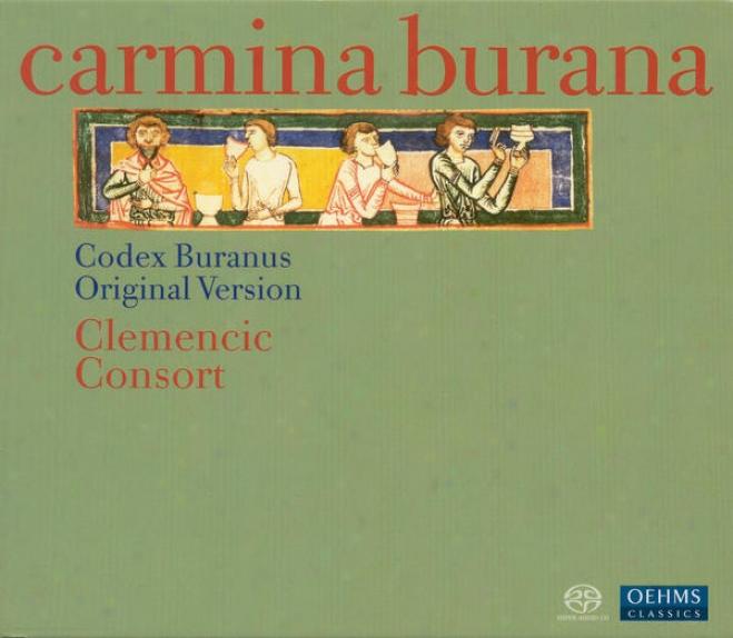 Medieval Songs From The Codex Buranus, 13th Century (carmina Burana) (clemencic Consort)