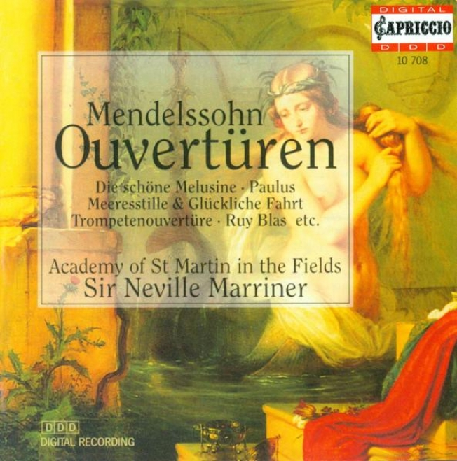 Mendelssohn, Felix: Overtures (academy Of St. Martin In The Fields, Marriner)