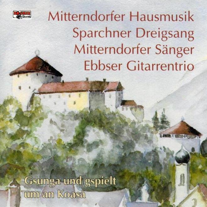 Mitterndorfer Hausmusik/mitterndorfer Sã¤nger/ebbser Gitarrentrio / Sparchner Dreigsang