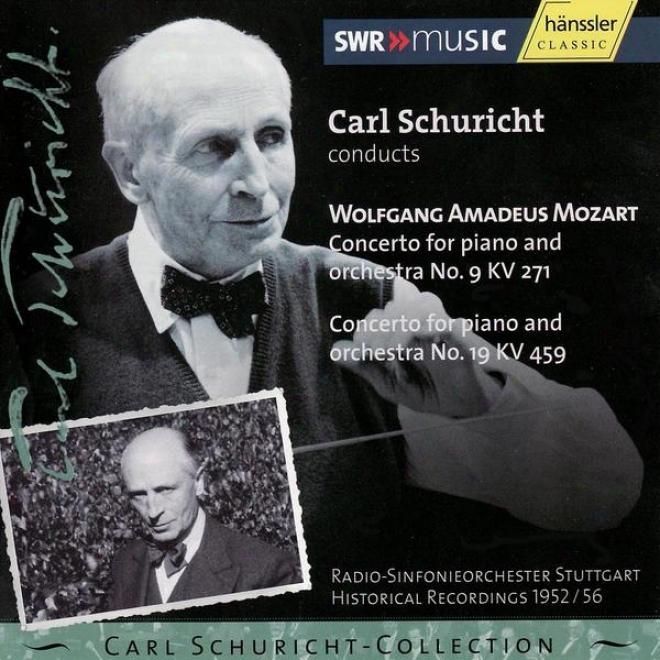 Mozart :Concerto For Piano And Orchestra No.9 Kv271 / No.19 Kv 459 - Vol. Xiii