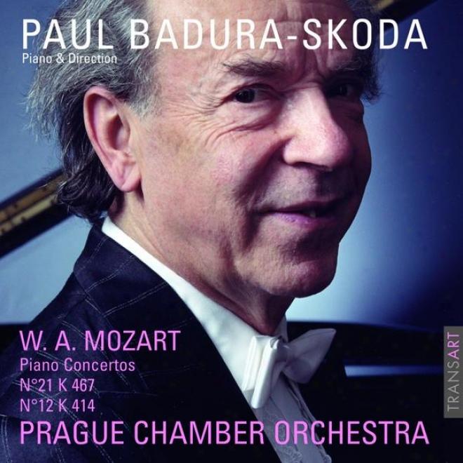 Mozart : Concertos Pour Piano Nâ° 21 Kv 467 Et 12 Kv 414 - Piano Concertos No. 21 K. 467 And 12 K. 414