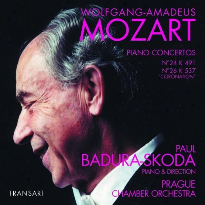 Mozart : Concertos Pour Piano N24, N26 Du Couronnement - Piano Conxertos No. 24, No. 26 Coronation