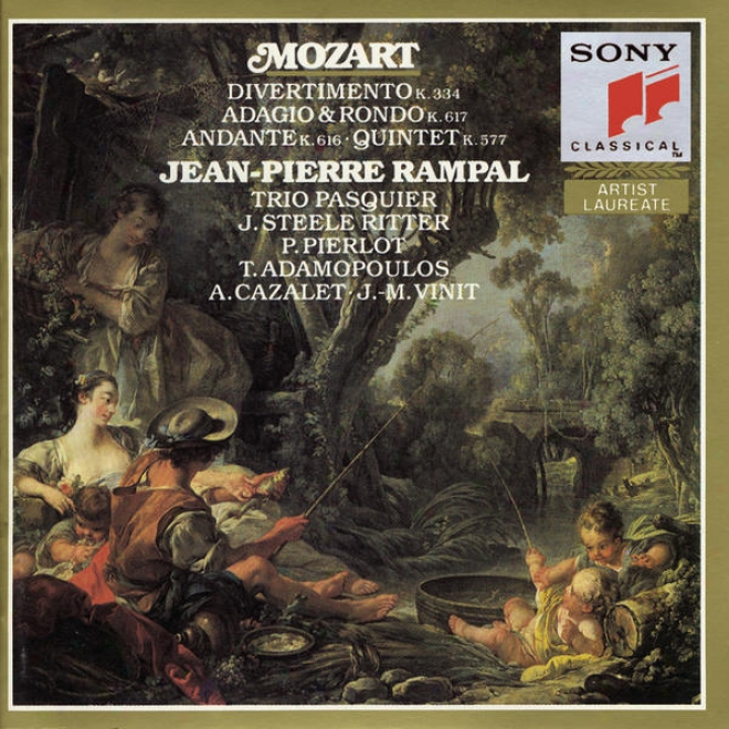 Mozart: Divertimento, K. 334; Quintet, K. 557; Andante, K. 616 Adagio And Rondo, K. 617