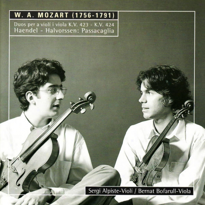 Mozart: Duos For Violin And Viola - Handel: Variatinos For Fiddle And Viola
