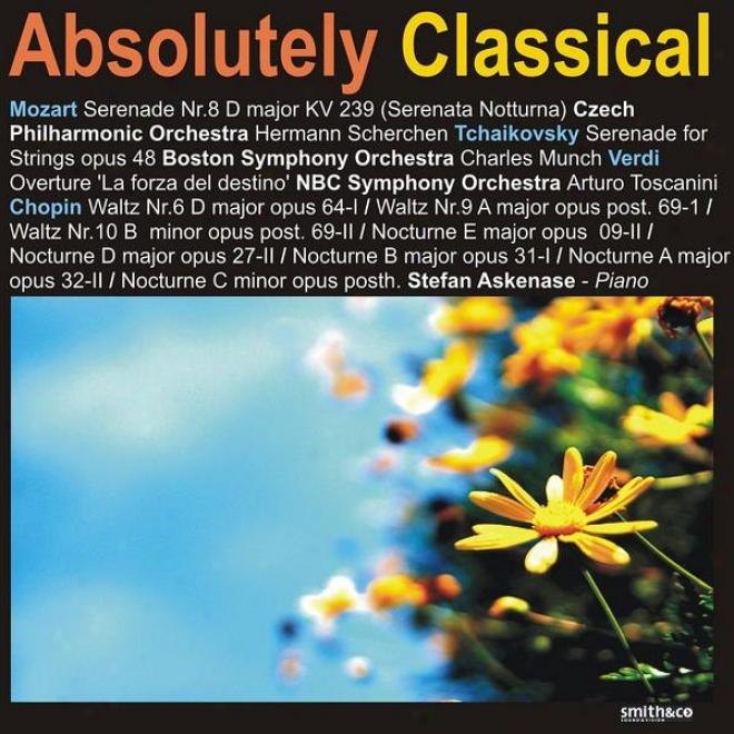 Mozart: Serenade No. 8 In D Major - Tchaikovsky: Serenade For Strings, Op. 48 - Chopin: Waltz No. 6 In D Major, Op. 64-1, Waltz