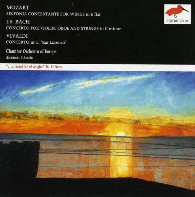 Mozart: Sinfonia Concertante For Winds; J.s. Bach: Concerto For Violin, Oboe And Strings; Vivaldi: Concerto In C