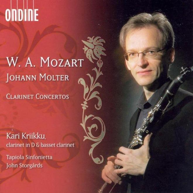 Mozart, W.a.: Clarinet Concerto In A Major / Molter, J.c. :Clarinet Concertos Nos. 1, 3 And 4 (kriikku, Tapiola Sinfonietta, Storg