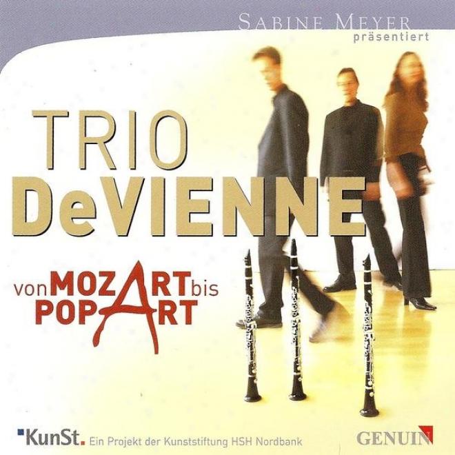 Mozart, W.a.: Divertimento, K. Anh. 229, N.o  6/ Kessler, T.: Unisono / Francaix, J.: Quartuor (devienne Trio)