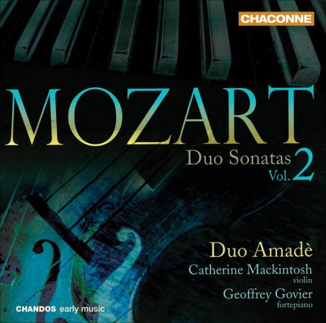 Mozart, W.a.: Duo Sonatas, Vol. 2 - Violin Sonatas, K. 296, 304, 305, 306 (duo Amade)
