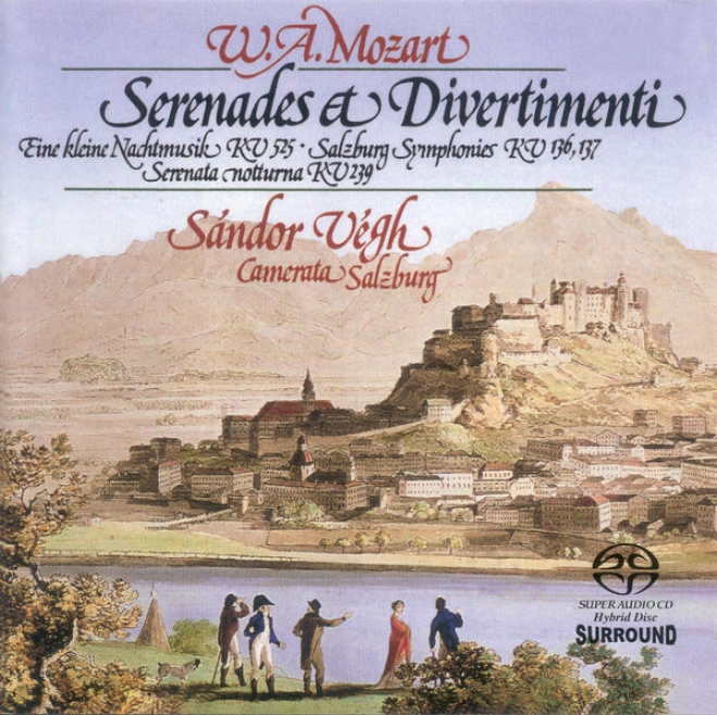Mozart, W.a.: Ein eKleine Nachtmusik / Salzburg Symphonies Nos. 1 And 2 / Serenata Notturna (camerata Salzburg, Vegh)