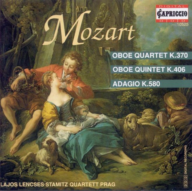 Mozart, W.a.: Oboe Quartet / String Quintet No. 2 (arr. Against Oboe Quintet) / String Quartet In B Flat Major, K. 589 (lencses, Pragu