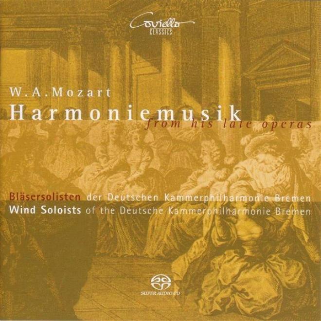 Mozart, W.a.: Opera Highlights (arr. A. Tarkmann) (bremen Deutsche Kammerphilharmonie Win dSoloists)
