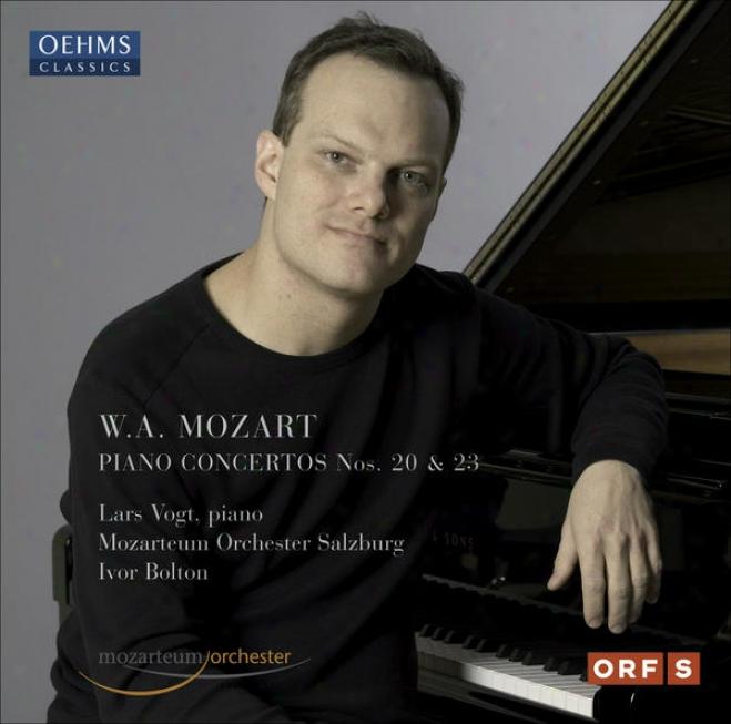 Mozart, W.a.: Piano Concertos Nos. 20 And 23 (vogt, Salzburg Mozarteum Orchestra, Bolton)