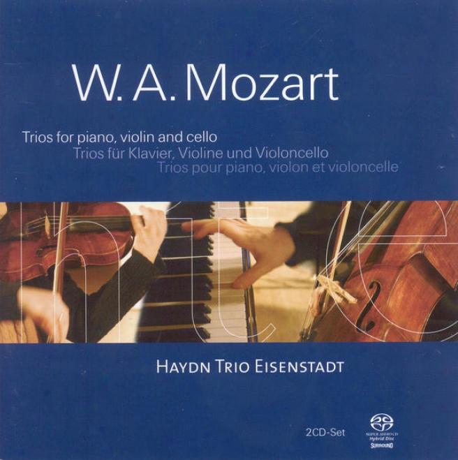 Mozart, W.a.: Piano Trios / Divertimento In B Flat Major (eisenstadt Haydn Trio)