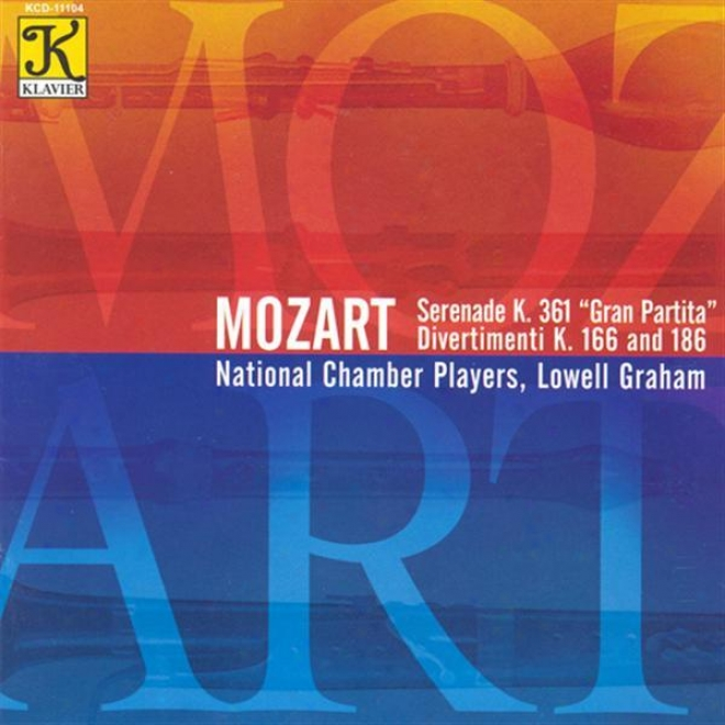 """mozart, W.a.: Serenade No. 10, """"gran Partita"""" / Divertimento In E Flat Major / Divertimento In B Flat Major"""