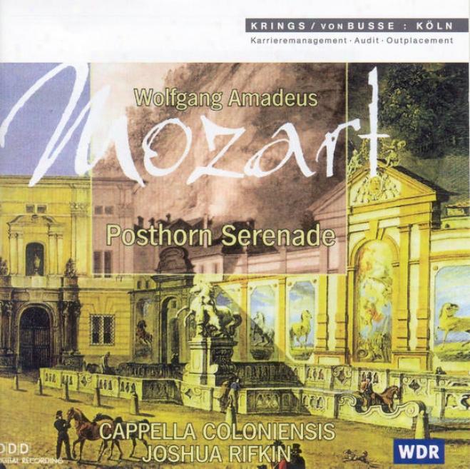 """""""m0zart, W.a.: Serenade No. 9, """"""""posthorn"""""""" / Symphony No. 32 (cappella Coloniensis, Rifkin)"""""""