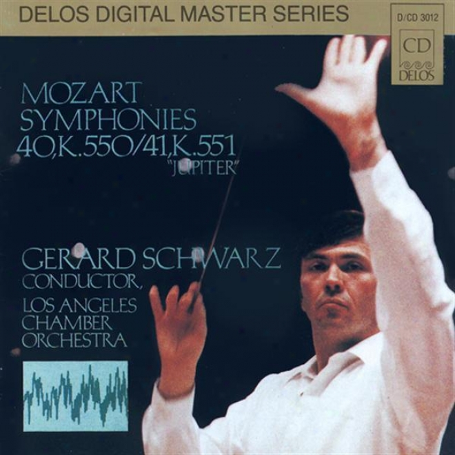 """""""mozart, W.a.: Symphony No. 41, """"""""jupiter"""""""" / Symphony No. 40 (lod Angeles Chamber Orchestra, Schwarz)"""""""