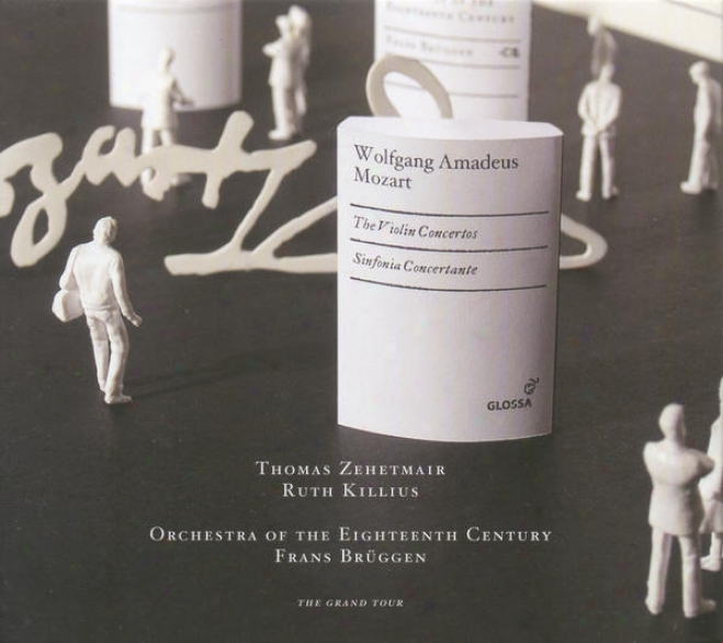 Mozart, W.a.: Violin Concertos Nos. 1-5 / Sinfonia Concertante, K. 364 (zehetmair, Killius, Orchestra Of The 18th Century, Bruggen