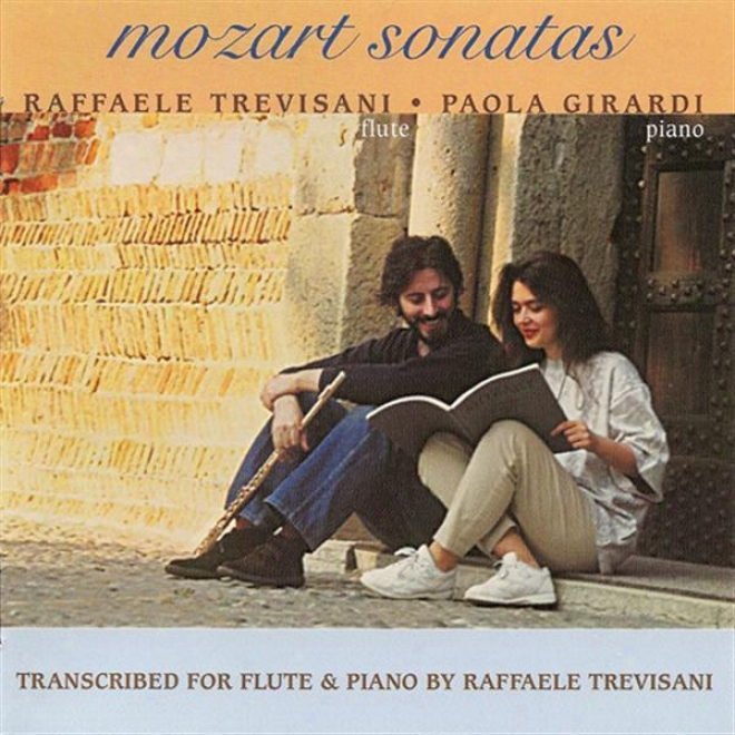 Mozart, W.a.: Violin Sonagas Nos. 17, 18, 24 And 27 (arr. For Flute And Piano) (trevisani,G irardi)