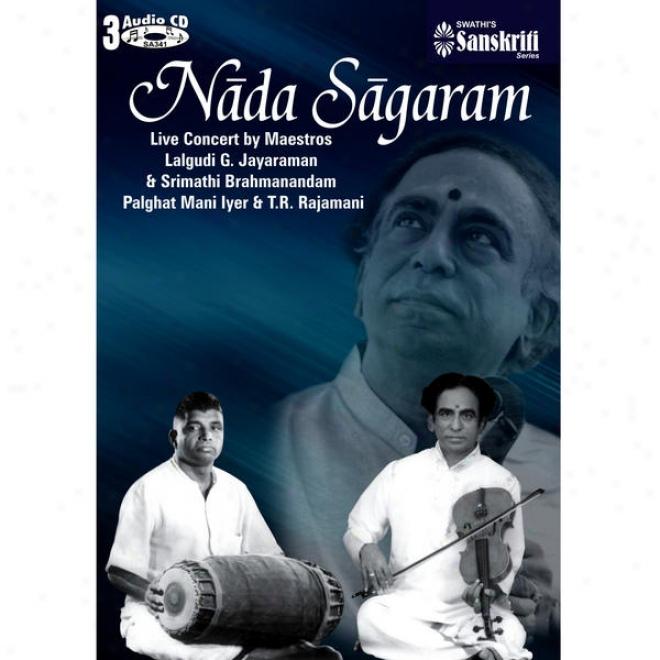 Nada Sagaram Behave Carnatic Violin Duet - Maestros Lalgudi G.jayaraman & Srimathi Brahmanandam