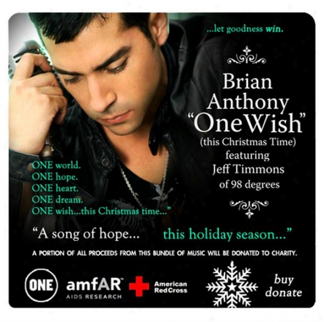"""""""one Wisj (this Christmas Time)"""""""" Feat. Jeff Timmons (charity Holiday Bundle)"""""""