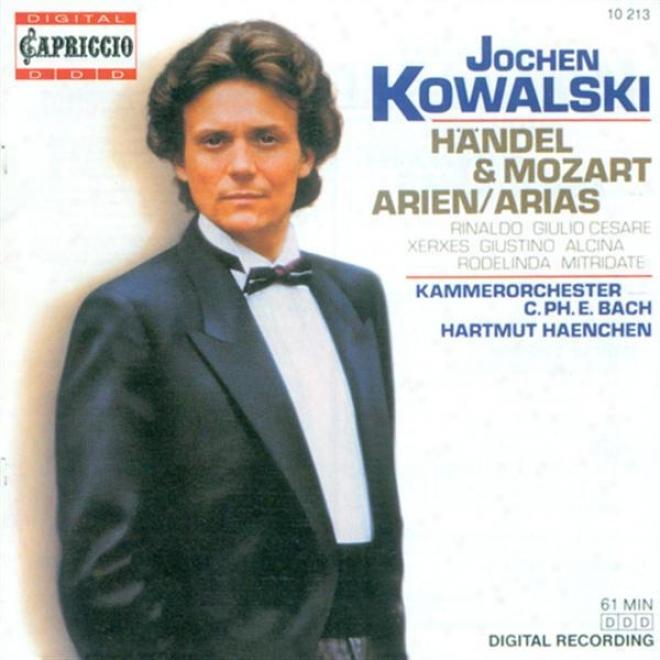 Opera Arias (counter-tenor): Kowalski, Jochen - Handel, G.f. / Mozart, W.a.